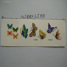 2 Sheet Trendy Waterproof Small Fresh Pattern Tattoo Stickers – Photo Color Charming