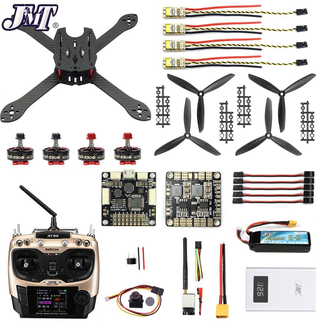 Pro SP Racer F3 300mm 2.4G 10CH FPV RC quadrirotor RTF bricolage Combo Drone caméra sans brosse en Fiber de carbone 700TVL avec lunettes FPV