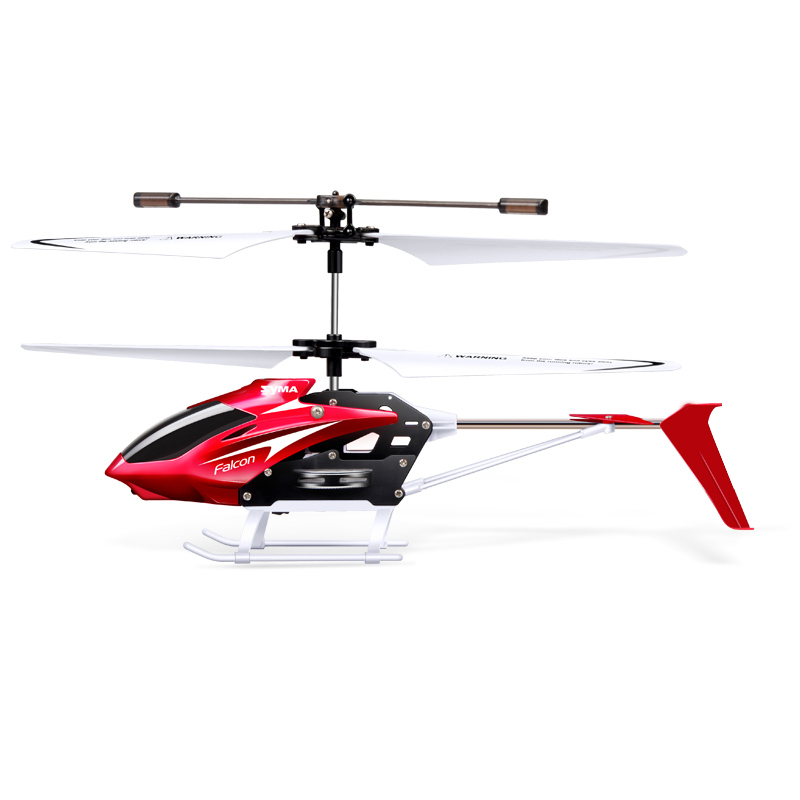 Image 2 - Syma W25 Mini RC Helicopter Aircraft Radio Remote Control Helicopter with Flashing LED Night Light Toys For Boy Gift-in RC Helicopters from Toys & Hobbies