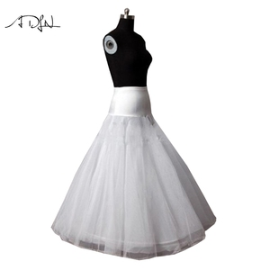 Image 2 - New Arrives High Quality A Line Wedding Bridal Petticoat Underskirt Crinolines Adult for Wedding Dress
