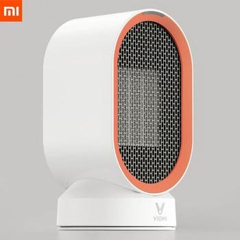 Xiaomi Viomi Electric Heater Mini Fan Heater Desktop hot/Cold Wind Model Portable Desktop Warmer Machine Winter Home Office Smart Remote Control
