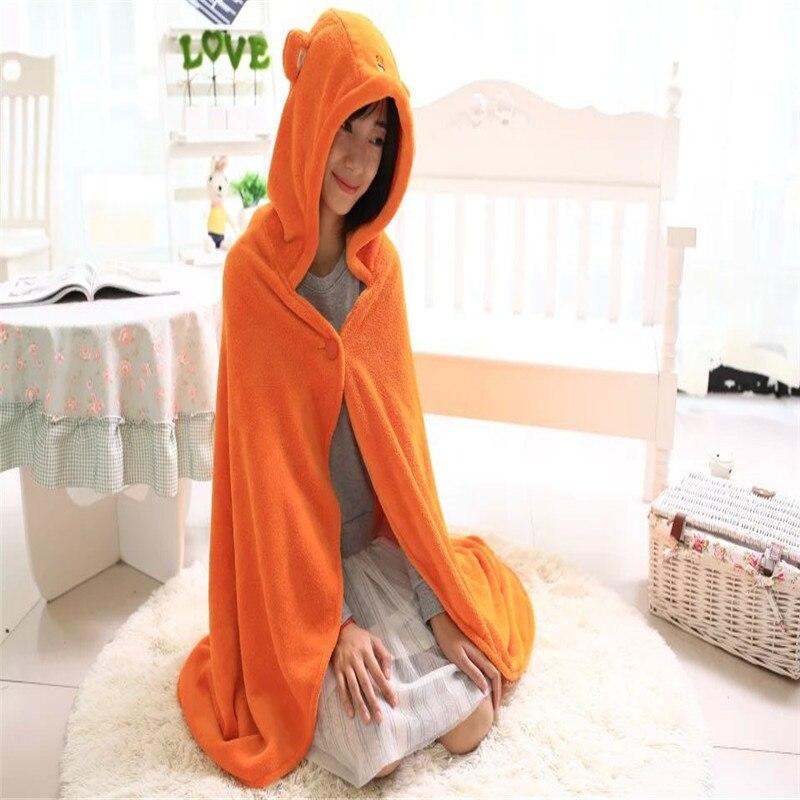 Free Shipping Himouto! Umaru-chan Anime Doma Umaru Cosplay Cloak Home Dress Blanket Soft Cos Capes Hooded Robes 150cm CS13934