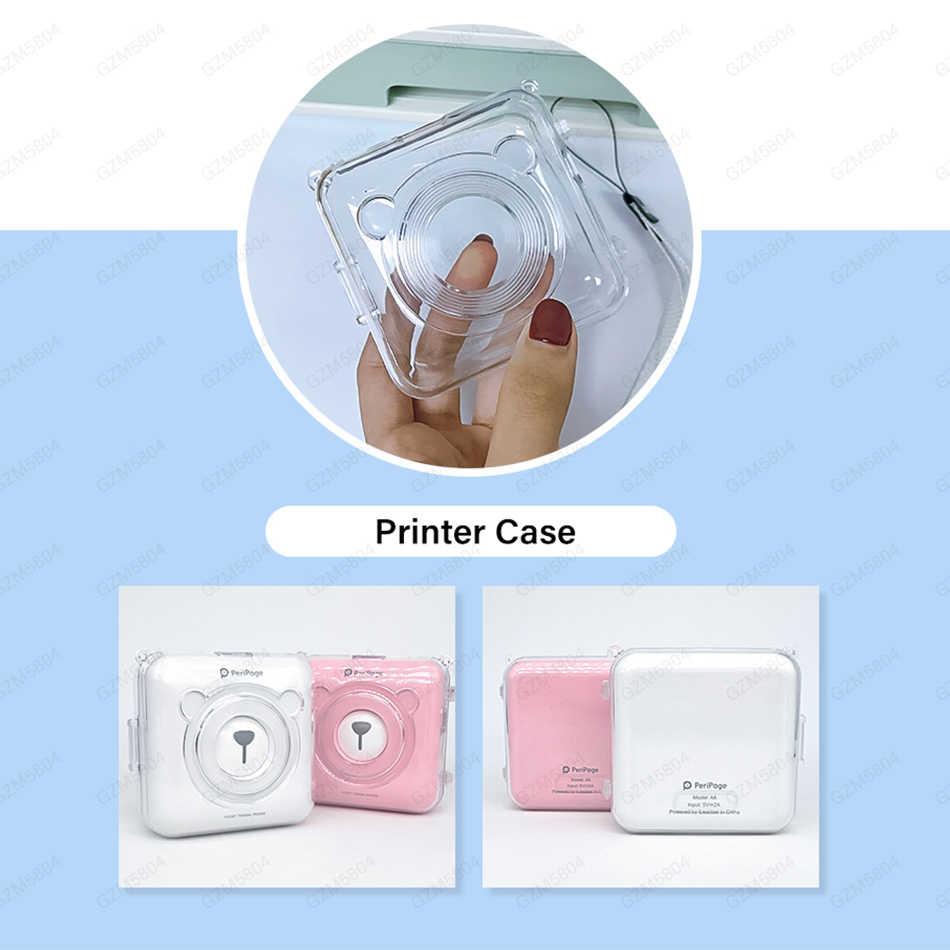 58*30 Mm Warna Putih Kertas Label Stiker untuk 203 304 DPI Peripage Foto Saku Mini Bluetooth Printer untuk Android IOS