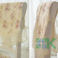 Wedding Chair Covers Lace flower chair cover Universal Banquet Wedding hotel home Reception