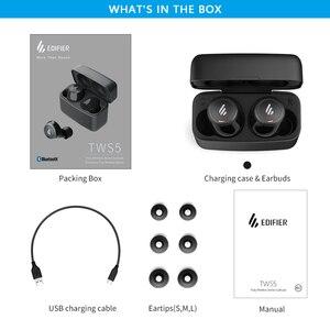 Image 5 - TWS наушники EDIFIER TWS5 с поддержкой Bluetooth 5,0, защитой класса IPX5 и поддержкой воспроизведения до 32 часов