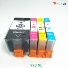For HP 920 Compatible Ink Cartridges for HP 920XL officejet 6000 6500 7000 7500 Printer free shipping 2017 new [hisaint] 5 pk 920xl 2b 1c 1m 1y ink cartridges for hp series w new chip new listing