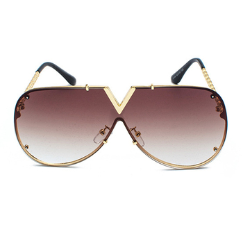 Oversized Oculos Designer Sunglasses - UV400 1