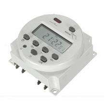 MYLB-Nuevo LCD Digital Power Timer Programable de Control DC 12 V 16A Hora Interruptor de Relé