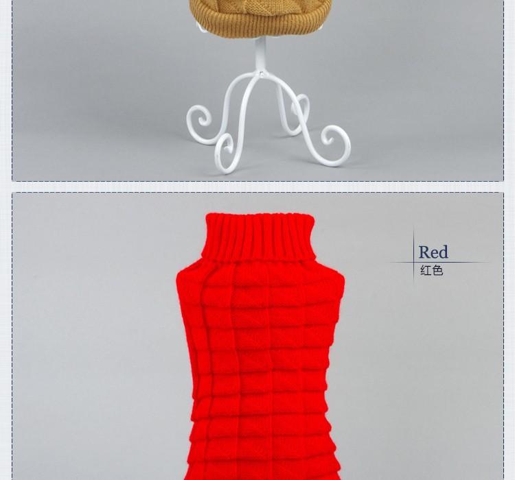5 colores 3D diseño perro de mascota Ropa de tejido de punto de ...