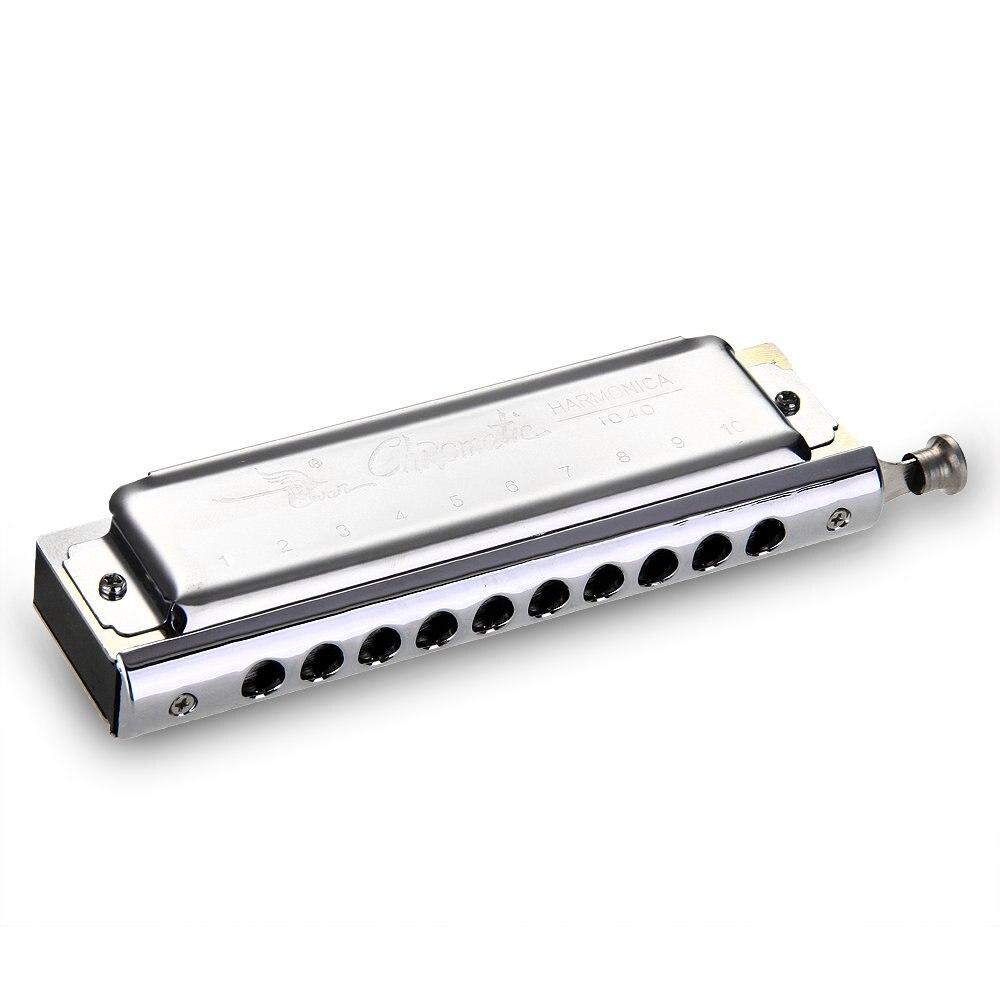 SALES 5xSwan Chromatic Harmonica 10 hole 40 tone tone DO C Key Music in Mouth
