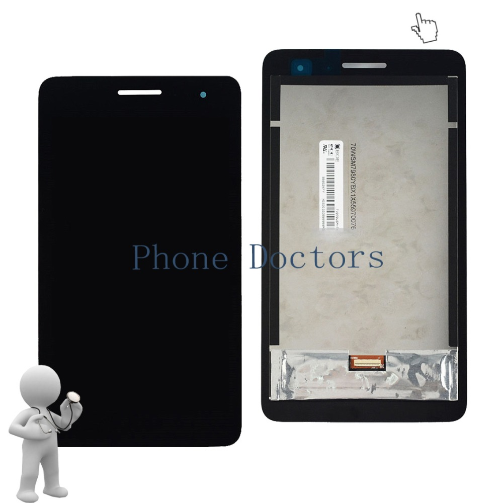 7.0 inch LCD DIsplay + Touch Screen Digitizer Assembly For Huawei MediaPad T1 7.0 / Honor Play Tablet T1-701u / T1-701ua T1-701 lcd complete for huawei honor play mediapad t1 701 t1 701w t1 701w lcd display screen touch digitizer replacement panel assembly