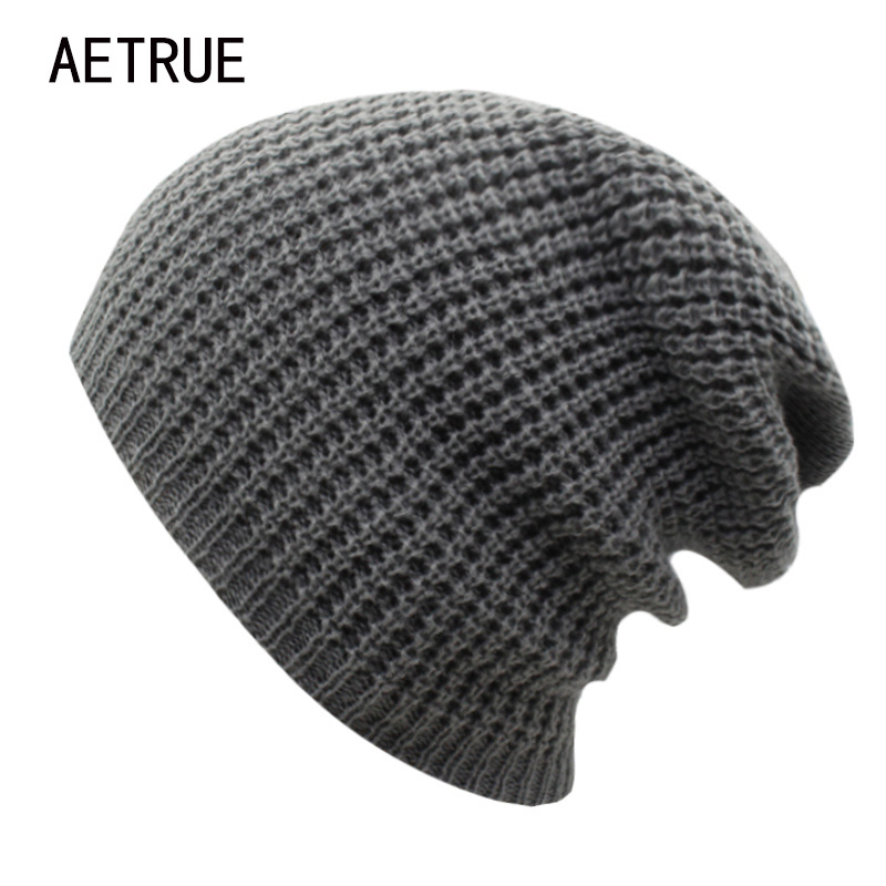 2017 Winter Hat Women Beanies Knit Hat Bonnet Caps Brand Women Winter Hats For Men Warm Acrylic Skullies Casual Baggy Beanie aetrue beanies knitted hat men winter hats for men women fashion skullies beaines bonnet brand mask casual soft knit caps hat