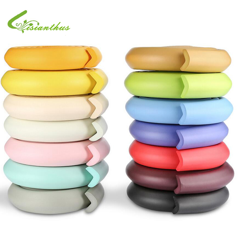 2m/lot Baby Safe Anti-collision Bar Safety Protective Equipment For Kids Baby Protection Corner Protector Baby Safety Guard Edge