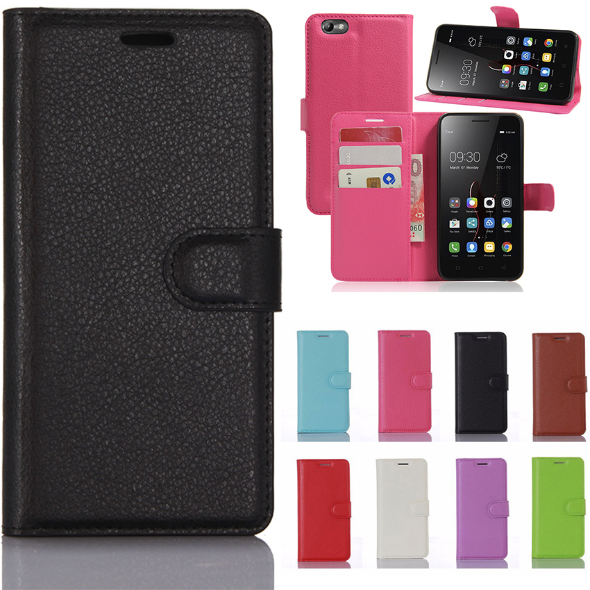 Wallet Leather Flip Phone Cases For Lenovo A2020 Cover