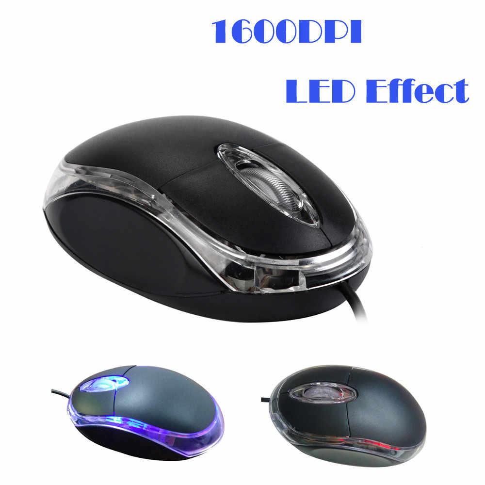 充電式マウスジャンパー有線マウスマウスゲーム Pc のラップトップ 1200 DPI USB 有線光学式ゲーミングマウス愉し # 20/
