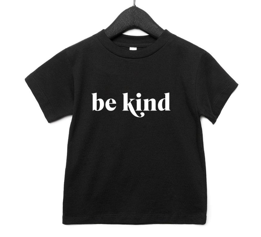 be kind Print Kids tshirt Boy Girl t shirt For Children Toddler Clothes Funny Tumblr Top Tees Drop Ship CZ-52 image