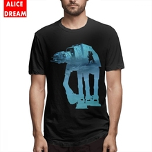 AT-AT On Hoth Tee Shirt For Men 2018 New Marvel Homme Personalized Round Collar Big Size Black T