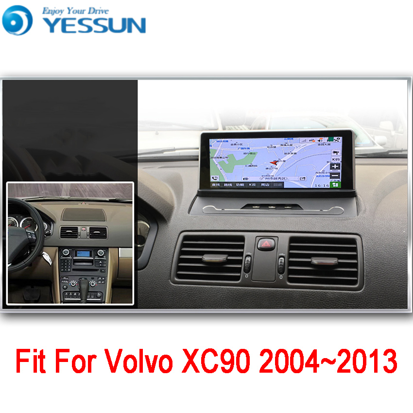 YESSUN For Volvo XC90 2004~2013 Android Car GPS Navigation DVD player Multimedia Audio Video Radio Multi-Touch Screen yessun for mazda cx 5 2017 2018 android car navigation gps hd touch screen audio video radio stereo multimedia player no cd dvd