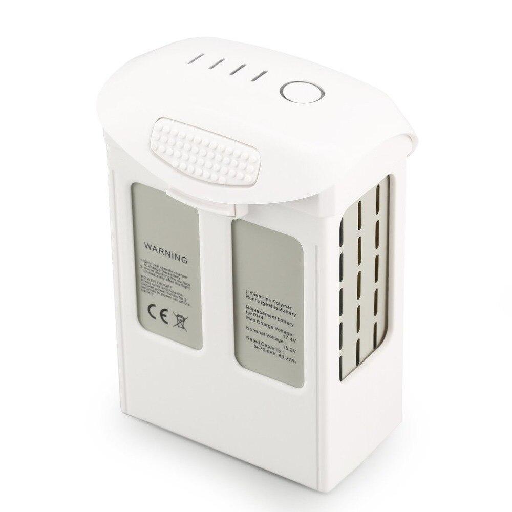 For DJI Phantom 4 Pro Battery 5870mAh High Capacity Intelligent Flight Battery for Phantom 4 Series Max 30 mins flight time