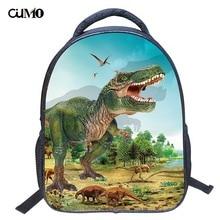 Ou Mo brand dinosaur Print High capacity travel Boys/Girls child Schoolbag Mini Backpack Kids Kindergarten Children School Bag