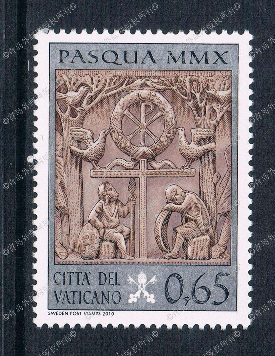 цена на YT0103 the Vatican 2009 Easter religious relief sculpture stamp 1 new 0629