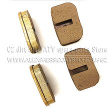 copper Disc Brake Shoe Pad For 47 49cc mini dirt bike minimoto pocket bike baby