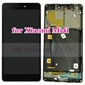 """5.0 """"lcd preto + tp + quadro para xiaomi mi4i mi 4i m4i display lcd + touch screen digitador assembléia com moldura grátis transporte + ferramentas"""