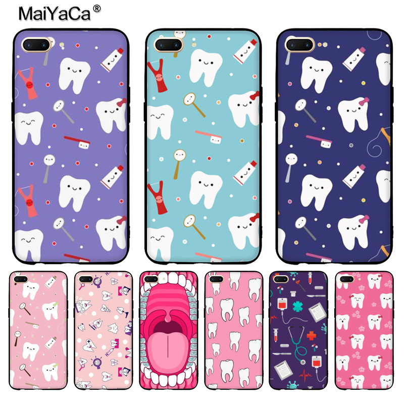 Phone Bags & Cases Maiyaca Nurse Doctor Dentist Stethoscope Tooth Injections Fashion Phone Case For Oppo R9s R9 R11 Plus Casefor Vivo X9 Plus X20 To Enjoy High Reputation In The International Market