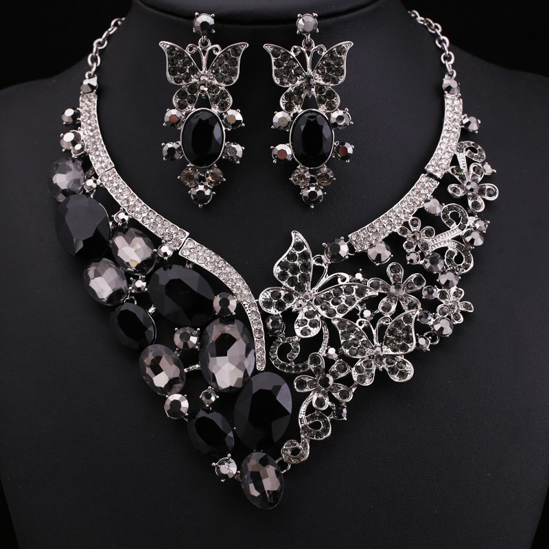 sisters occasions necklaces statement large adele black collections lace jewelry for designs llc jewellery layered charming perfect choker necklace all