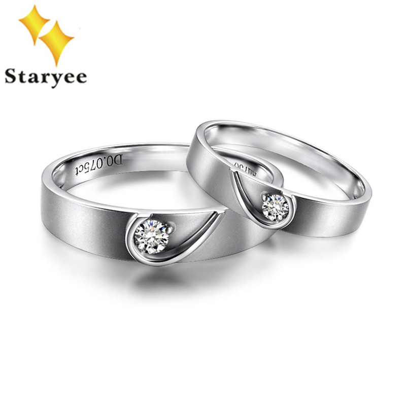 men itm steel rings ring women band screw couple diamond bands lover f titanium stainless