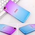 Gradient Case for HTC One M9 M10 Rubber TPU Transparent Back Cover Case for HTC X9 Desire 626 820 Capa Case for A9