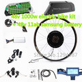 "The 50kph speed 20""-28"" Ebike kit 48v 1000w electric bike kit with 48v 12ah dolphin lithium battery pack"