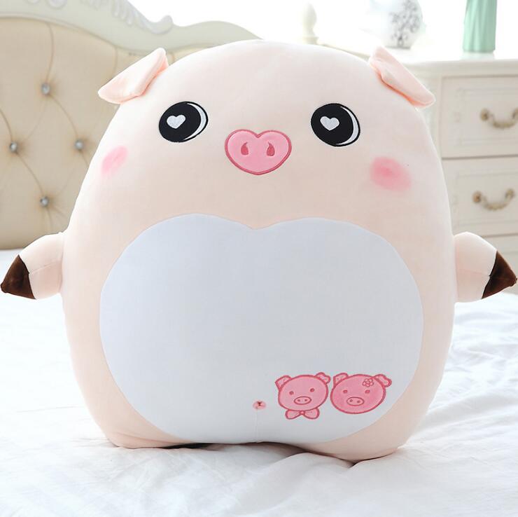 Cute Pig Stuffed Animal Cartoon Plush Doll Soft Pillow Toys Kids Birthday Gift