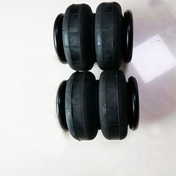 2 pcs truck rubber air spring air pillows rubber sleeves Dia meter 200mm 2 Convoluted Max dia meter 250mm 7 bar can load 1200kgs