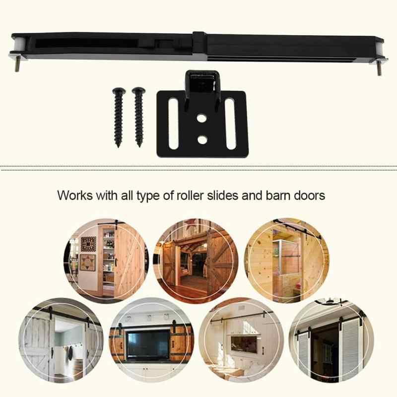 1 set דלת שקופיות מנחת רך קרוב שקופיות מנגנון ריהוט הפוגה אבזר עבור מדריך רכבת הזזה אסם עץ דלת מכירה לוהטת