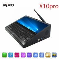PiPo X10 Pro Mini PC ТВ коробка + ips Tablet PC двойной ОС Android intel Z8350 4 ядра 10000 мАч Bluetooth HDMI Minipc