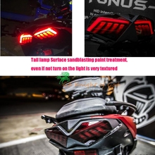 Motorcycle Scooter FORCE 155 Taiwan Nightingale Taillight LED rear guide Light taillight modified Non-steel bomb