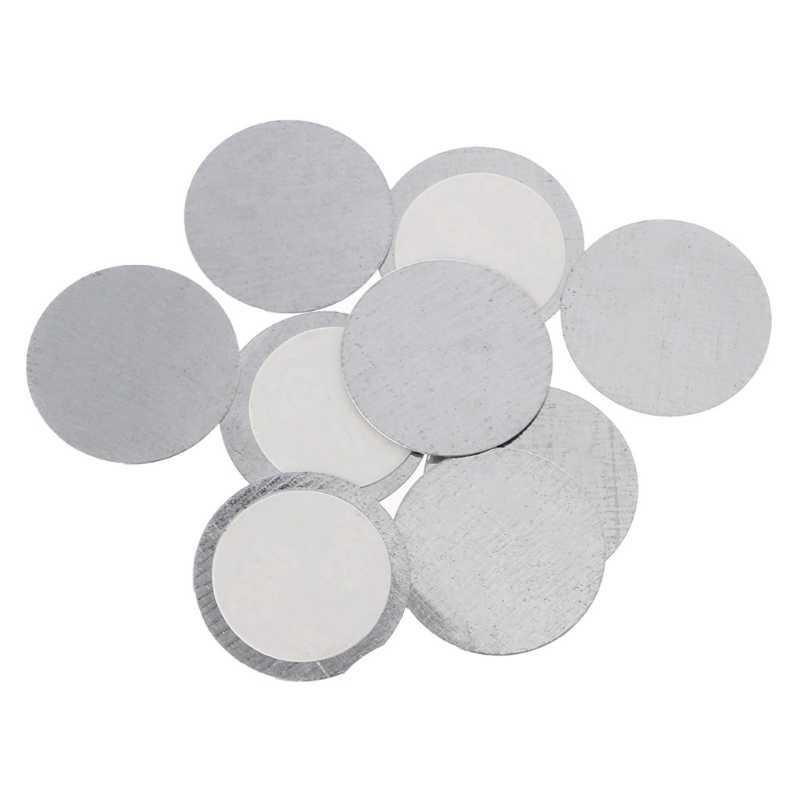 Ramadan Festival GiftsNew 10pcs Empty Magnetic Eyebrow Powder Pot Tin Palette Pans DIY Eyeshadow