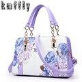 Pochette Pintura flores Cadeia Mulheres Saco famoso designer de bolsas de luxo e bolsas de mão das senhoras sacos de preço em dólar sac a principal