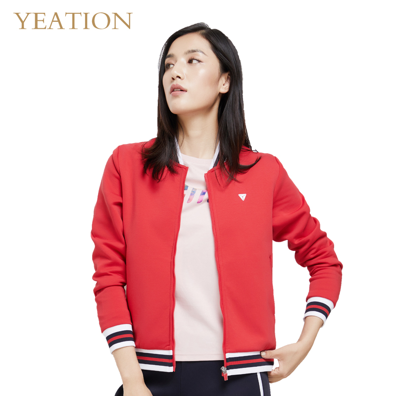 YEATION Women Lady   Jackets     Basic     Jacket   Long Sleeve Coat Casual Slim Fit Outerwear