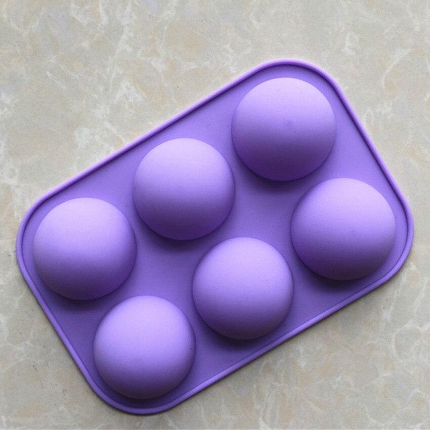 6 Halbkugel Formen Kuchenform Halbkugel Silikonform Backformen