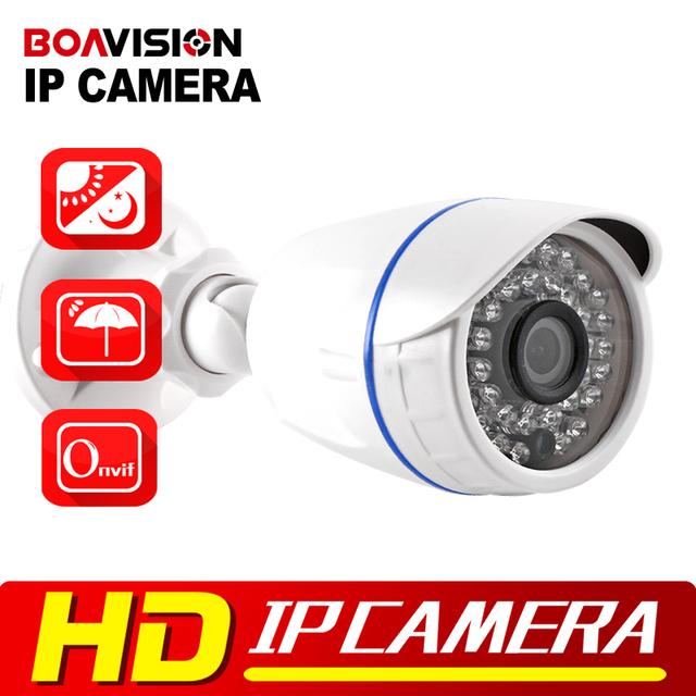 1.0MP 720 P 2MP Cámara IP Bala Al Aire Libre IR 20 m Visión Nocturna Impermeable de Seguridad CCTV HD 1080 P IP cámara ONVIF XMEye