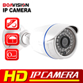 1.0MP 720 P IP Câmera de 2MP Bala Outdoor IR 20 m À Prova D' Água de Visão Noturna de Segurança CCTV HD 1080 P IP câmera ONVIF XMEye