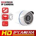 1.0MP 720 P Ip-камера 2-МЕГАПИКСЕЛЬНАЯ Открытый Пуля ИК 20 м Водонепроницаемый Ночного Видения HD CCTV Безопасности 1080 P IP камера ONVIF XMEye