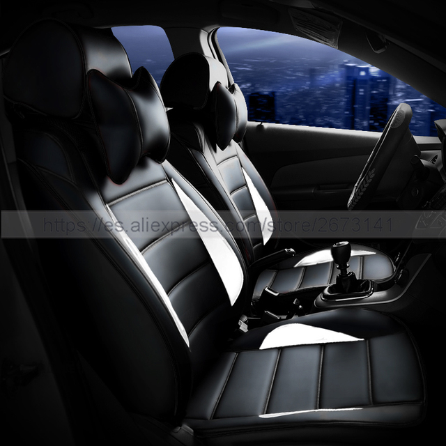 Custom Leather Car Seat Cover Front Back Complete Set Car Cushion
