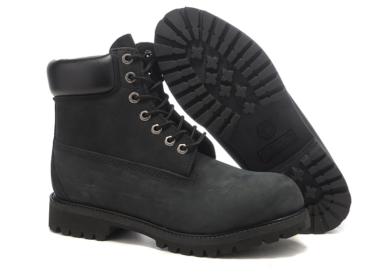 Timberland 6 Inch Boots Black