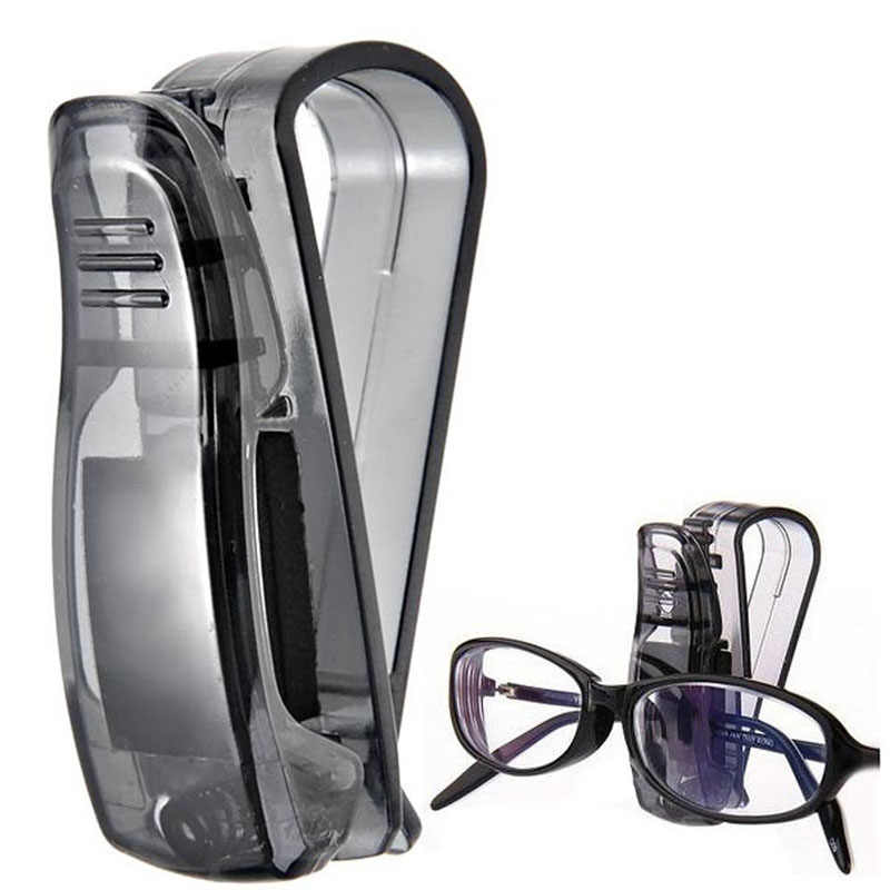 Car Sun Visor Sunglasses Eyeglasses Glasses Holder Ticket Clip Multi-Function Auto Fastener Clip Auto Accessories Car Styling
