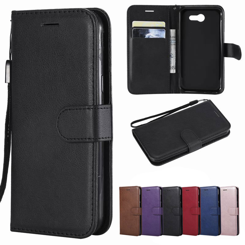 Galleria fotografica Wallet Case For Samsung Galaxy J3 2016 2017 Cover Samsung J3 Phone Case Luxury Leather Flip Housing For Coque J3 2018 2015 J310