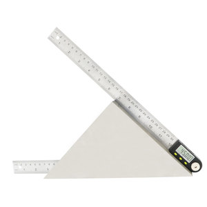 Image 5 - shahe Electronic Goniometer Digital Protractor Angle Finder Stainless Steel Ruler 300 mm Angle Gauge Measuring Tool