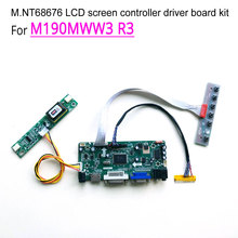 For M190MWW3 R3 computer LCD monitor 60Hz 2-lamp LVDS CCFL 19″ 30 pins 1440*900 M.NT68676 display controller driver board kit
